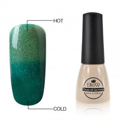 Elite99 Termo gelinis lakas 7ml (5030) Glitter Green/Dark Green