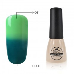 Elite99 Termo gelinis lakas 7ml (5037) Green/Dark Green