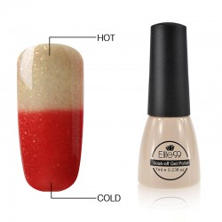 Elite99 Termo gelinis lakas 7ml (5040) Gold Sand/Red