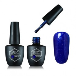 ELITE99 Gelinis lakas UV-LED 10ml (G1600) Pearl Cornflower Blue