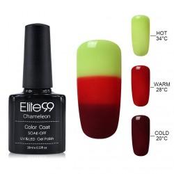 Elite99 Termo gelinis lakas 10ml (4201) Yeallow/Red