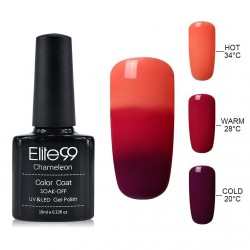 Elite99 Termo gelinis lakas 10ml (4204) Orange/Violet