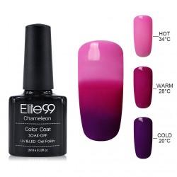 Elite99 Termo gelinis lakas 10ml (4205) Pink/Violet