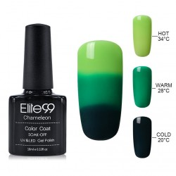Elite99 Termo gelinis lakas 10ml (4206) Green/Dark Green