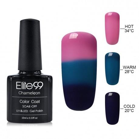 Elite99 Termo gelinis lakas 10ml (4207) Pink/Blue