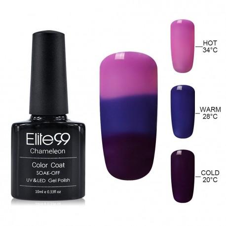 Elite99 Termo gelinis lakas 10ml (4208) Pink/Violet
