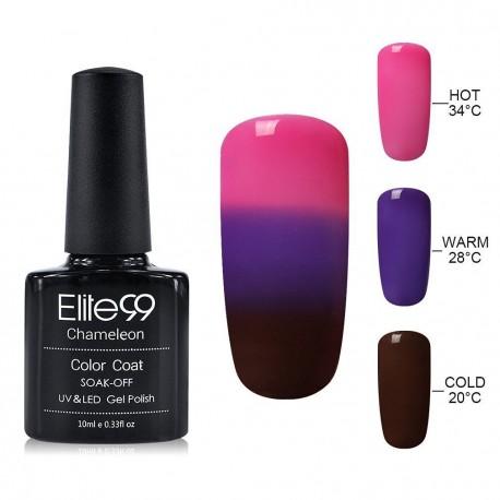 Elite99 Termo gelinis lakas 10ml (4211) Pink/Brown