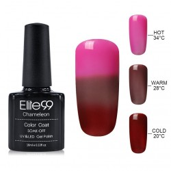 Elite99 Termo gelinis lakas 10ml (4213) Pink/Red
