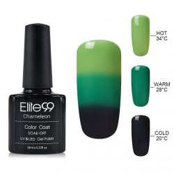 Elite99 Termo gelinis lakas 10ml (4214) Green/Black