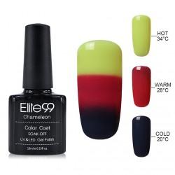 Elite99 Termo gelinis lakas 10ml (4216) Yellow/Grey