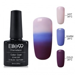 Elite99 Termo gelinis lakas 10ml (4218) Grey/Violet