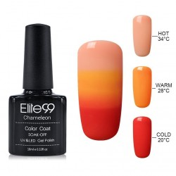 Elite99 Termo gelinis lakas 10ml (4219) Orange/Red