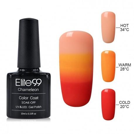 Elite99 Termo gelinis lakas 10ml (4219) Orange/Red