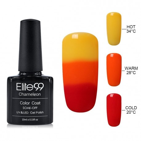 Elite99 Termo gelinis lakas 10ml (4224) Yellow/Red