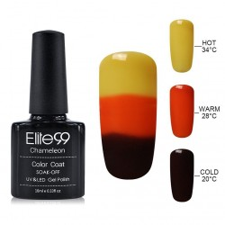 Elite99 Termo gelinis lakas 10ml (4229) Yellow/Dark Red
