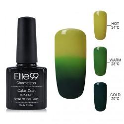 Elite99 Termo gelinis lakas 10ml (4231) Yellow/Green