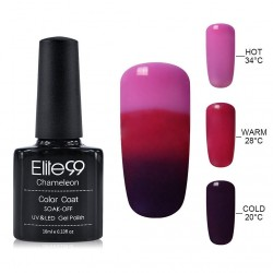 Elite99 Termo gelinis lakas 10ml (4232) Pink/Dark Purple