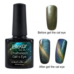Elite99 Chameleon Cat Eye Nail Polish Nail Art Manicure Soak Off Colour Nail Lacquer 10ml (3301)