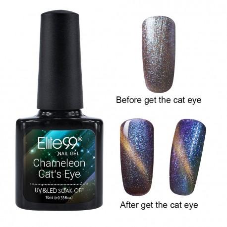 Elite99 Chameleon Cat Eye gelinis lakas 10ml (3305)
