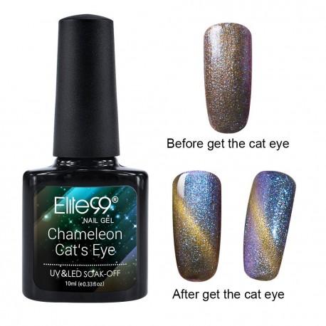 Elite99 Chameleon Cat Eye gelinis lakas 10ml (3309)