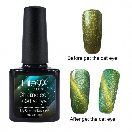 Elite99 Chameleon Cat Eye gelinis lakas 10ml (3310)