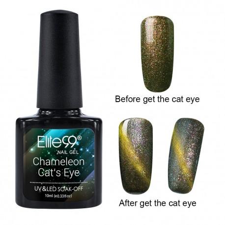 Elite99 Chameleon Cat Eye gelinis lakas 10ml (3311)