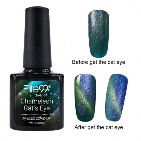 Elite99 Chameleon Cat Eye gelinis lakas 10ml (3312)