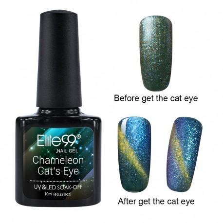 Elite99 Chameleon Cat Eye gelinis lakas 10ml (3314)