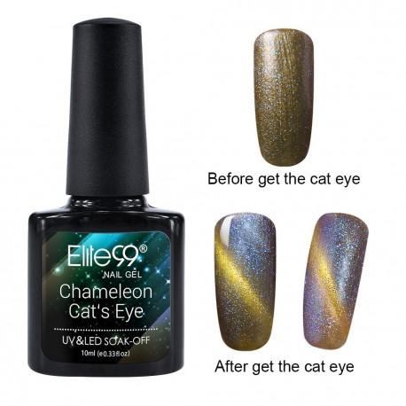 Elite99 Chameleon Cat Eye gelinis lakas 10ml (3315)