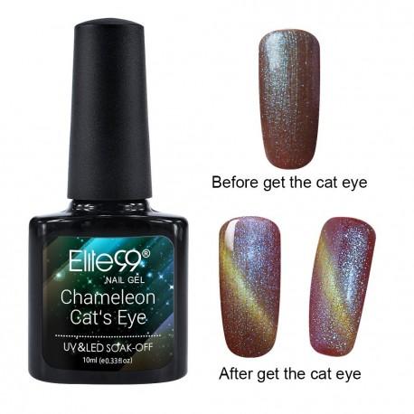 Elite99 Chameleon Cat Eye gelinis lakas 10ml (3316)