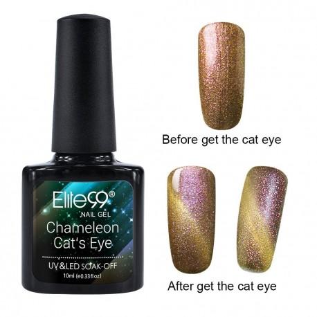 Elite99 Chameleon Cat Eye gelinis lakas 10ml (3319)