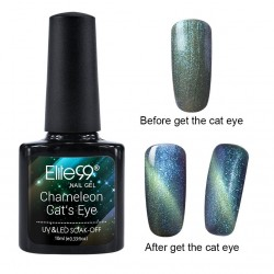 Elite99 Chameleon Cat Eye gelinis lakas 10ml (3321)