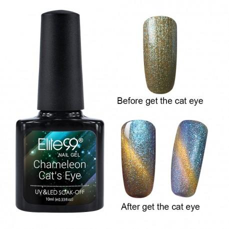 Elite99 Chameleon Cat Eye gelinis lakas 10ml (3322)