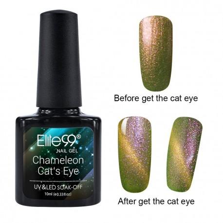 Elite99 Chameleon Cat Eye gelinis lakas 10ml (3324)