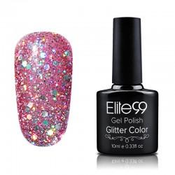 Elite99 Glitter gelinis lakas 10ml (GC051) Honeysuckle