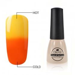 Elite99 Termo gelinis lakas 7ml (5701) Orange/Yeallow